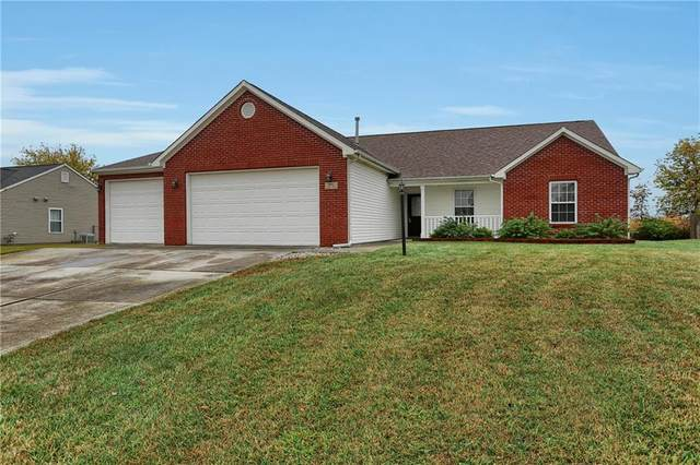 843 Quarterhorse Run, Bargersville, IN 46106 (MLS #21748230) :: The ORR Home Selling Team