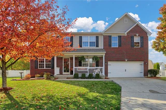 10354 Ringtail Place, Fishers, IN 46038 (MLS #21748248) :: The ORR Home Selling Team