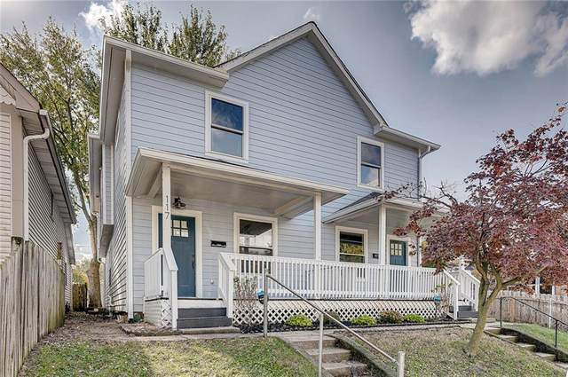 117 Kansas Street, Indianapolis, IN 46225 (MLS #21748256) :: Your Journey Team