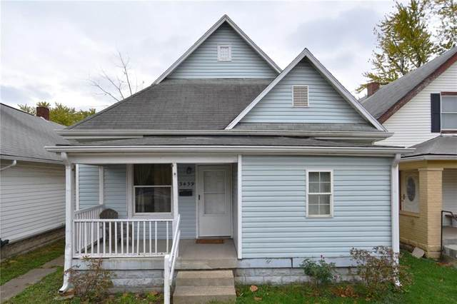 3439 W Michigan Street, Indianapolis, IN 46222 (MLS #21748299) :: The ORR Home Selling Team