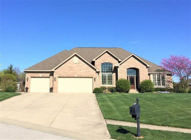 4971 Benthaven Court, Bargersville, IN 46106 (MLS #21748327) :: David Brenton's Team