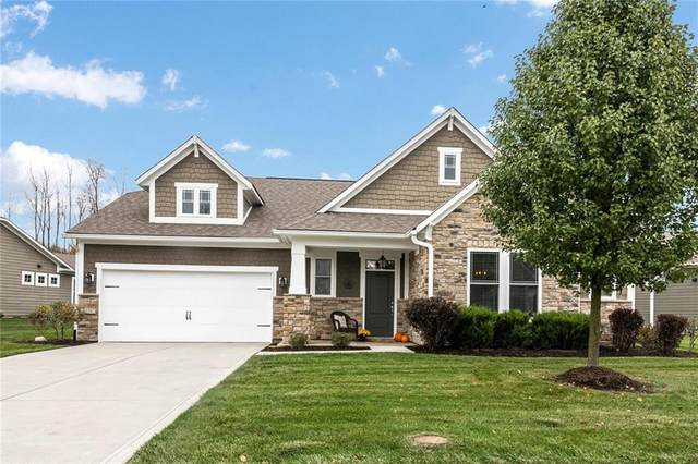 6156 Stonehenge Boulevard, Noblesville, IN 46062 (MLS #21748354) :: The ORR Home Selling Team