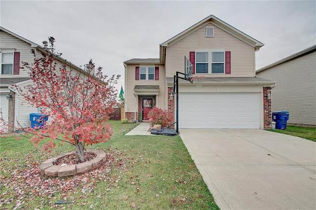 8049 Grove Berry Drive, Indianapolis, IN 46239 (MLS #21748381) :: The ORR Home Selling Team