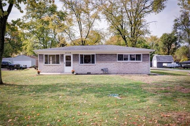 4138 Elmhurst Drive, Lawrence, IN 46226 (MLS #21748385) :: Richwine Elite Group