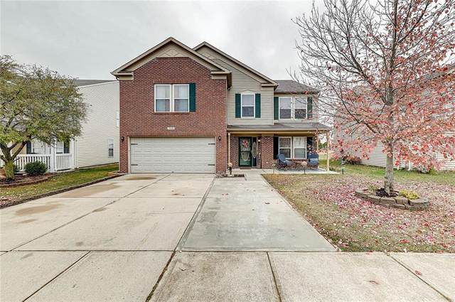 9358 W Rising Sun Drive, Pendleton, IN 46064 (MLS #21748400) :: David Brenton's Team
