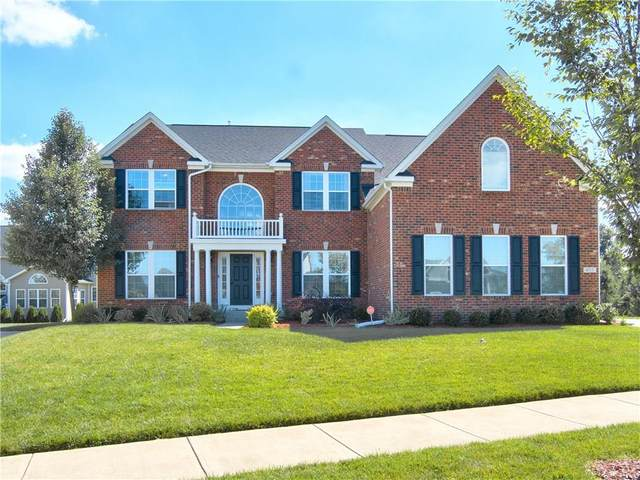 4513 Cool Springs Court, Zionsville, IN 46077 (MLS #21748455) :: The Indy Property Source