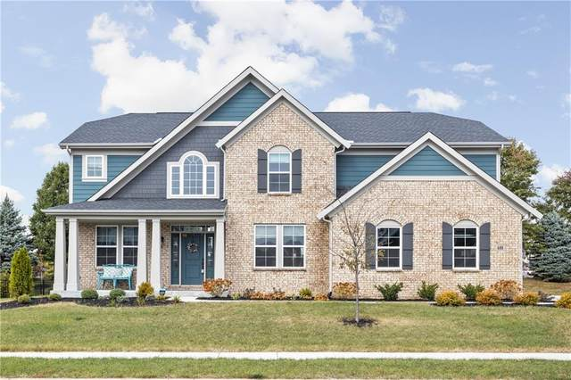 680 Ridge Gate Drive, Brownsburg, IN 46112 (MLS #21748542) :: Heard Real Estate Team | eXp Realty, LLC