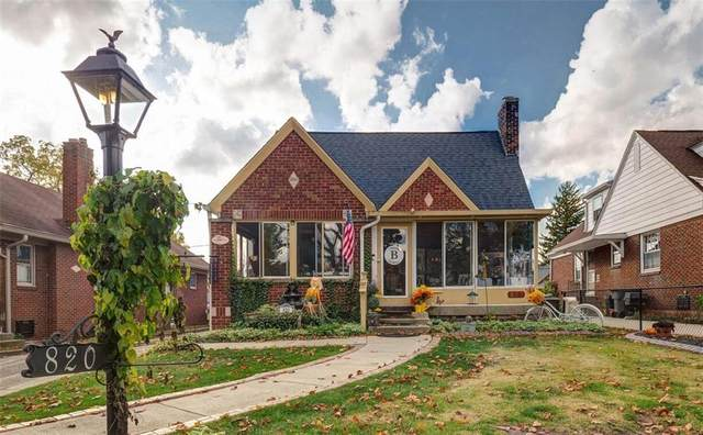820 Lesley Avenue, Indianapolis, IN 46219 (MLS #21748580) :: Heard Real Estate Team | eXp Realty, LLC