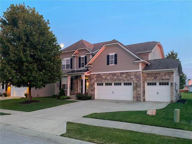 6107 Green Willow Road, Whitestown, IN 46075 (MLS #21748584) :: Richwine Elite Group