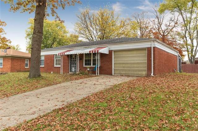 7846 Wysong Drive, Indianapolis, IN 46219 (MLS #21748588) :: The ORR Home Selling Team