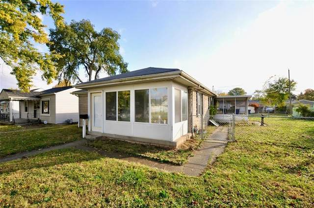2341 S Randolph Street, Indianapolis, IN 46203 (MLS #21748611) :: The Indy Property Source