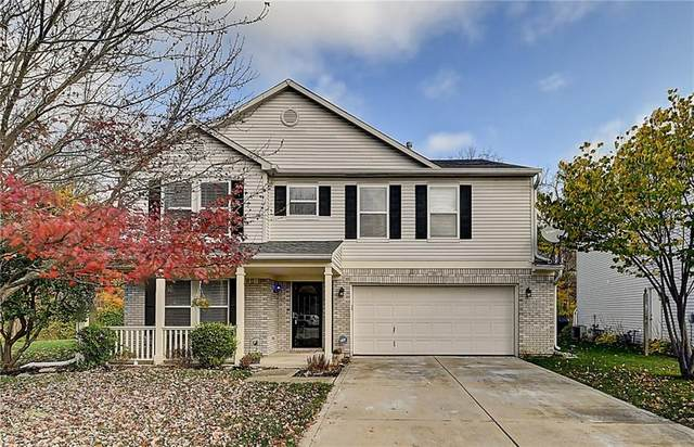 691 Thornwood Court, Avon, IN 46123 (MLS #21748668) :: The Evelo Team