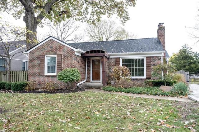 535 W Westfield Boulevard, Indianapolis, IN 46208 (MLS #21748669) :: The ORR Home Selling Team