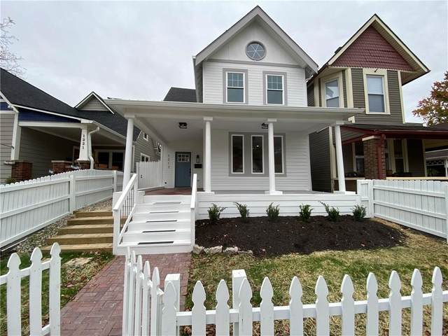 1217 Hoyt Avenue, Indianapolis, IN 46203 (MLS #21748672) :: Your Journey Team