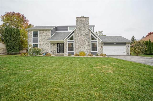 12021 Valley Brook Court, Indianapolis, IN 46229 (MLS #21748709) :: The ORR Home Selling Team