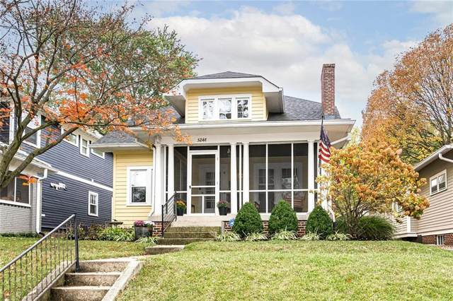 5248 Broadway Street, Indianapolis, IN 46220 (MLS #21748720) :: The ORR Home Selling Team