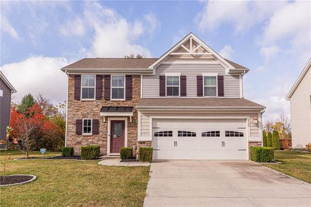 6730 School Branch Drive, Brownsburg, IN 46112 (MLS #21748732) :: Mike Price Realty Team - RE/MAX Centerstone