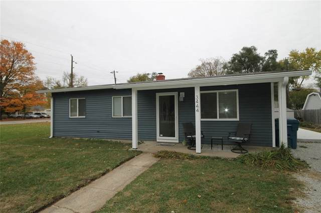 3444 Davis Drive, Indianapolis, IN 46221 (MLS #21748777) :: The ORR Home Selling Team