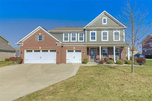 6466 English Oak, Brownsburg, IN 46112 (MLS #21748801) :: Mike Price Realty Team - RE/MAX Centerstone