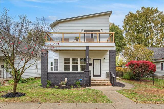 1528 Woodlawn Avenue, Indianapolis, IN 46203 (MLS #21748807) :: The ORR Home Selling Team