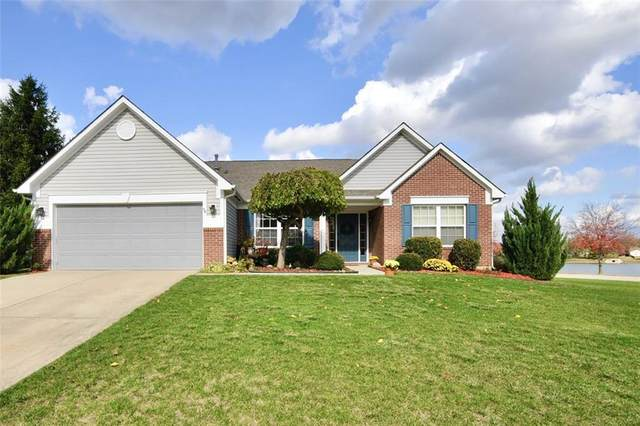 5504 Gainesway Drive, Greenwood, IN 46142 (MLS #21748837) :: Richwine Elite Group