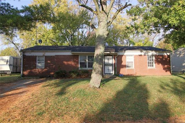 4338 Kenmore Road, Indianapolis, IN 46226 (MLS #21748861) :: The ORR Home Selling Team