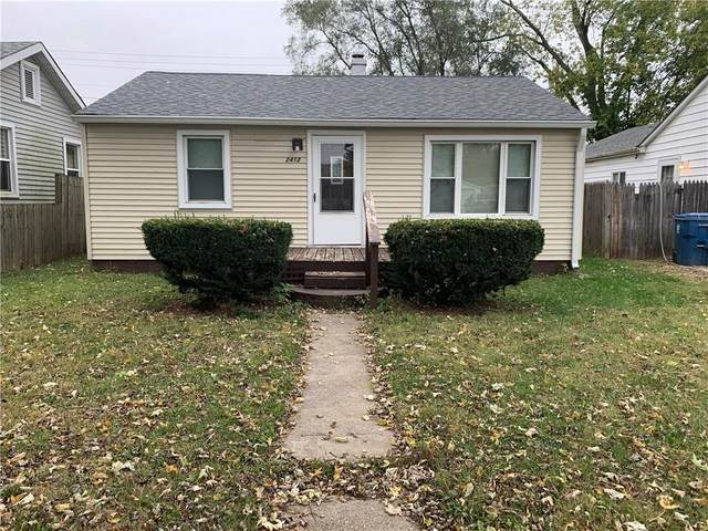 2412 Foltz Street, Indianapolis, IN 46241 (MLS #21749020) :: Realty ONE Group Dream