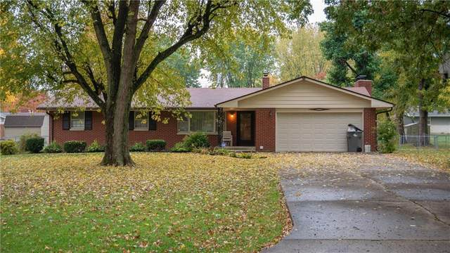 255 Bangor Drive, Indianapolis, IN 46227 (MLS #21749068) :: The ORR Home Selling Team