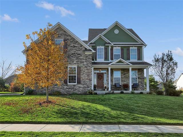 16754 Hawk Creek Circle, Westfield, IN 46074 (MLS #21749105) :: The Indy Property Source