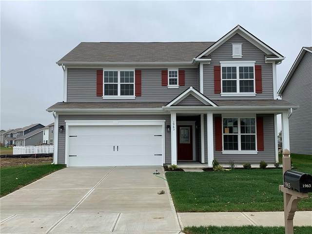 1963 Turning Leaf Drive, Franklin, IN 46131 (MLS #21749126) :: The Indy Property Source