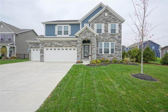 16481 Wheatley Court, Fishers, IN 46040 (MLS #21749294) :: AR/haus Group Realty