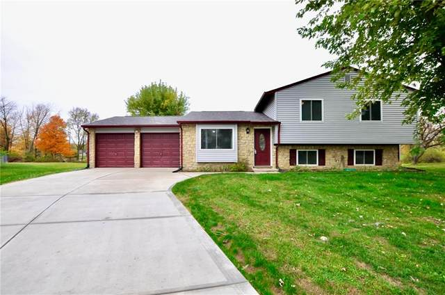 8702 Pleasant Lake Circle, Indianapolis, IN 46227 (MLS #21749303) :: The ORR Home Selling Team