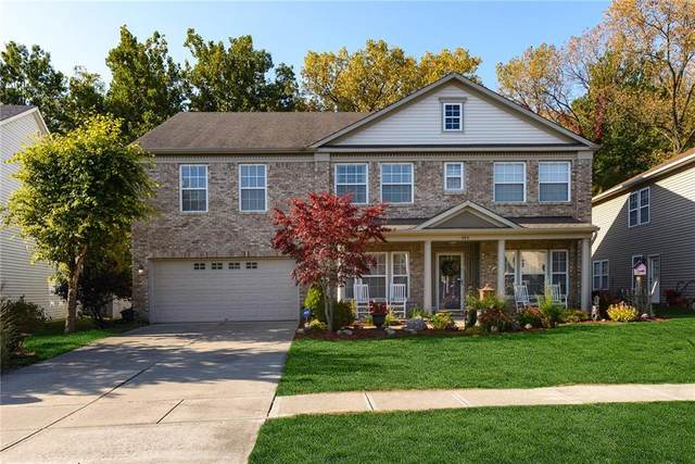 392 Legacy Boulevard, Greenwood, IN 46143 (MLS #21749304) :: The ORR Home Selling Team