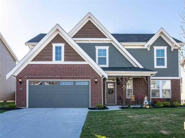 6457 W Clearview Drive, Mccordsville, IN 46055 (MLS #21749329) :: The ORR Home Selling Team
