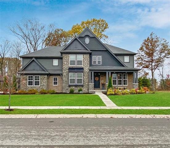 12526 Coastal Place, Fishers, IN 46037 (MLS #21749334) :: AR/haus Group Realty