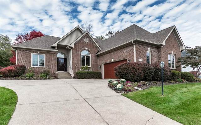 8112 Knollcreek Circle, Indianapolis, IN 46256 (MLS #21749379) :: The ORR Home Selling Team