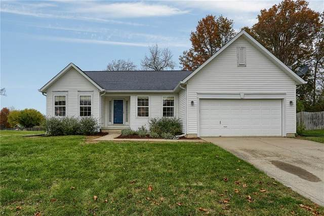 5956 Keensburg Drive, Indianapolis, IN 46228 (MLS #21749383) :: The ORR Home Selling Team