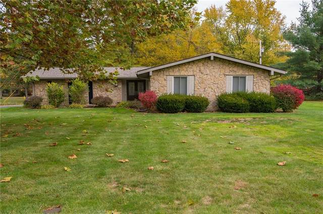 11405 Central Drive W, Carmel, IN 46032 (MLS #21749396) :: The Evelo Team