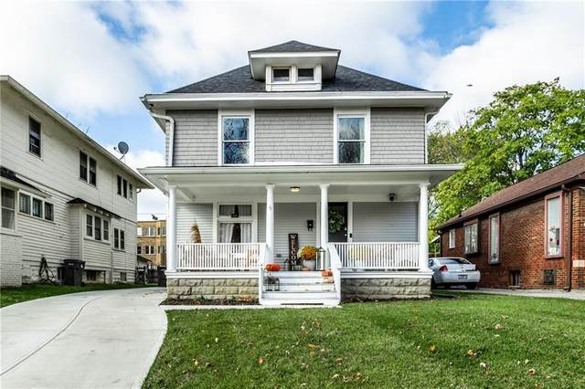 22 N Bolton Avenue, Indianapolis, IN 46219 (MLS #21749444) :: The Indy Property Source