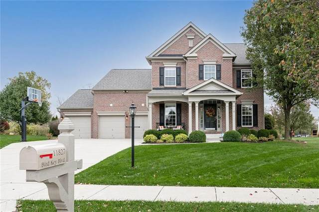 11827 Bird Key Boulevard, Fishers, IN 46037 (MLS #21749470) :: The Indy Property Source