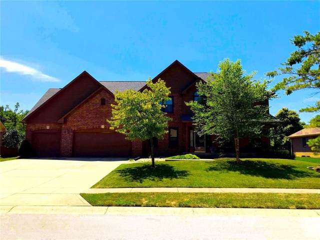 1095 Hudson Bay Drive, Greenwood, IN 46142 (MLS #21749502) :: The ORR Home Selling Team
