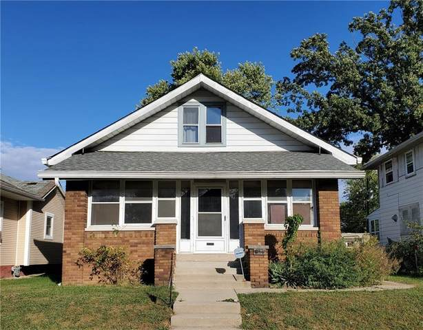 615 N Oakland Avenue, Indianapolis, IN 46201 (MLS #21749549) :: The ORR Home Selling Team