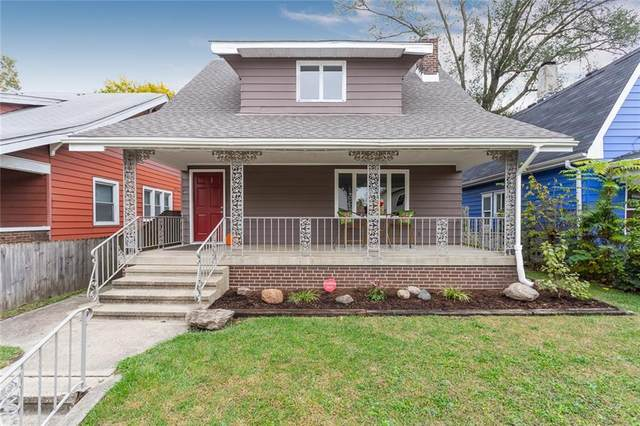 35 N Drexel Avenue, Indianapolis, IN 46201 (MLS #21749550) :: Richwine Elite Group