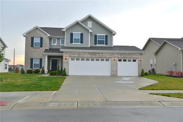 18236 Nickel Plate Drive, Westfield, IN 46074 (MLS #21749552) :: The Indy Property Source