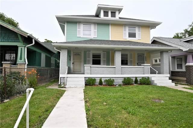 533 N Rural Street, Indianapolis, IN 46201 (MLS #21749582) :: Richwine Elite Group