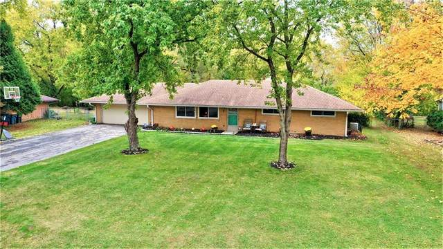 9822 Chambray Drive, Indianapolis, IN 46280 (MLS #21749635) :: The ORR Home Selling Team