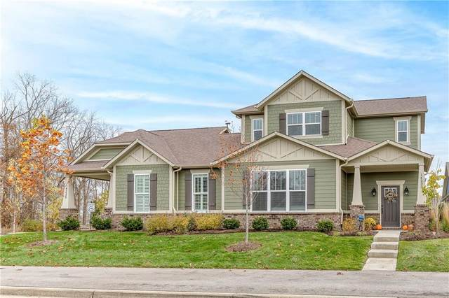 14233 Community Drive, Carmel, IN 46033 (MLS #21749650) :: Mike Price Realty Team - RE/MAX Centerstone