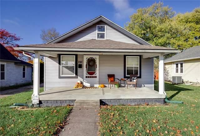 248 N Meridian Street, Greenwood, IN 46143 (MLS #21749659) :: The Indy Property Source