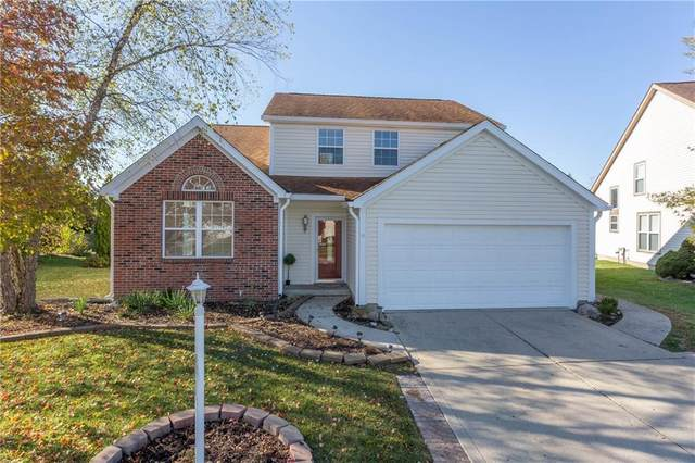 9659 Wickland Court, Fishers, IN 46037 (MLS #21749661) :: The Indy Property Source