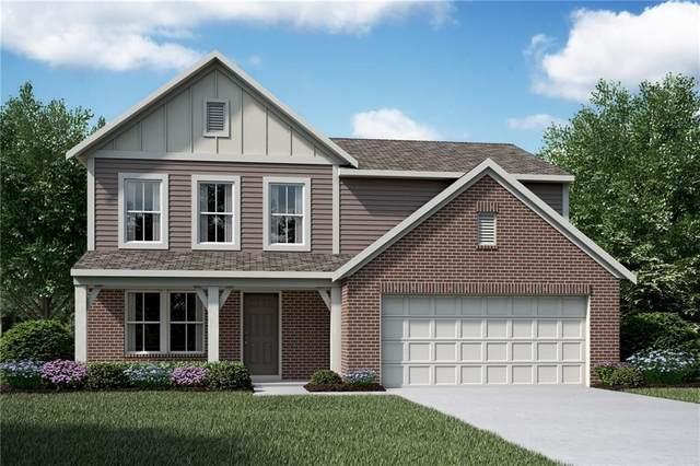 5543 W Woodhammer Trail, Mccordsville, IN 46055 (MLS #21749772) :: The Evelo Team